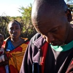 """His father, a tall man who belongs to the Maasai people, holds a folder with him all the time, where he keeps the entire medical information. He says: """" we are alone, I am desperate and do not know what to do""""."""