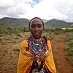 Susan, the mother of Shadrack Ole Sankale