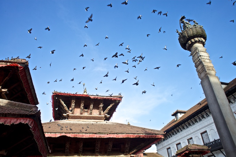 Katmandú antes del terremoto