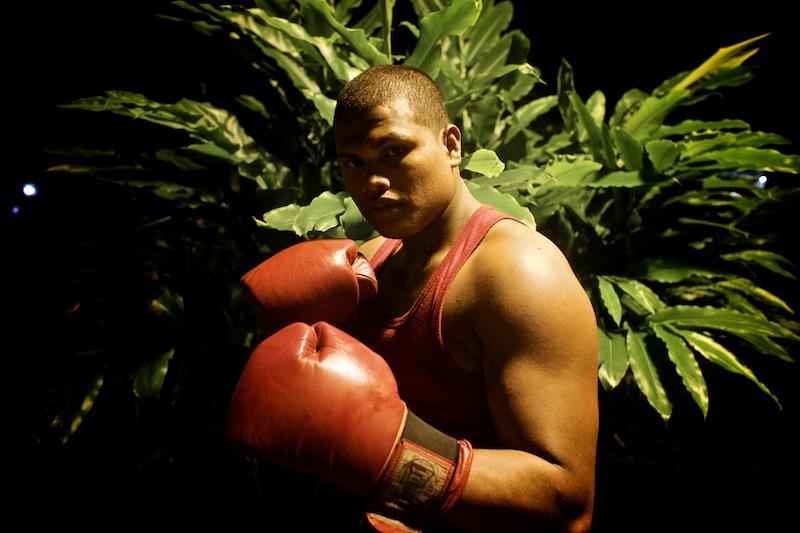 Los boxeadores de Leticia